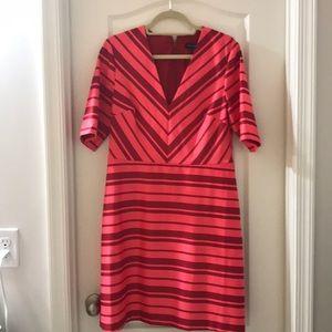 Banana Republic red stripe dress
